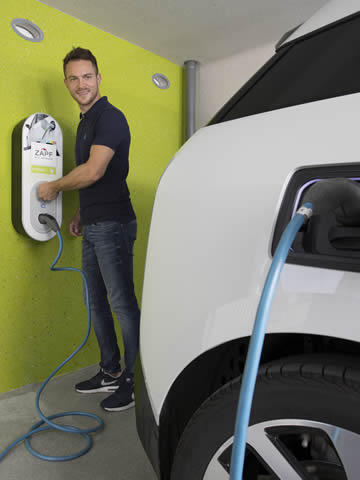 Die Garage als E-Auto-Ladestation